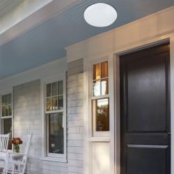 Outdoor Aluminium Ceiling Lamp With PC Lens D300 LED BRIGHT VIOKEF