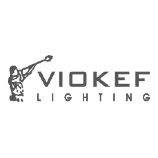 LED 48W Metallic Pendant Lighting In White And White Fittings OWEN VIOKEF