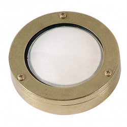 Brass Sconce Light Round G9 LUNA1 IP64 UNIVERSE