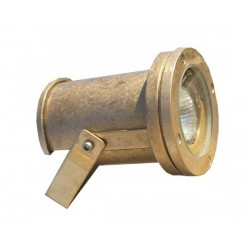 Brass Spotlight Fixture With Base GU10 50W IP55 ΧΥΤΟΜΕΤΑΛ