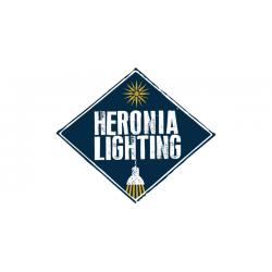 Μοντέρνο Φωτιστικό Απλίκα Τοίχου Με Μεταλλικό Βραχίωνα Σε Μπρονζέ Χρωμα H20x44 1xE27 AS-150AP Heronia Lighting