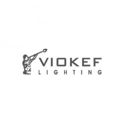 Μοντέρνο Μονόφωτο Πορτατίφ Φωτιστικό Μεταλλικό Με Μεταλλική Βάση Σε Μωβ Χρώμα Edgar 1xCFL VIOKEF