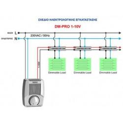 Dimmer Master Wall 230V PROFESSIONAL 1-10V