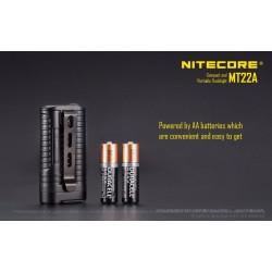 Flashlight LED MULTI TASK MT22A Black NITECORE