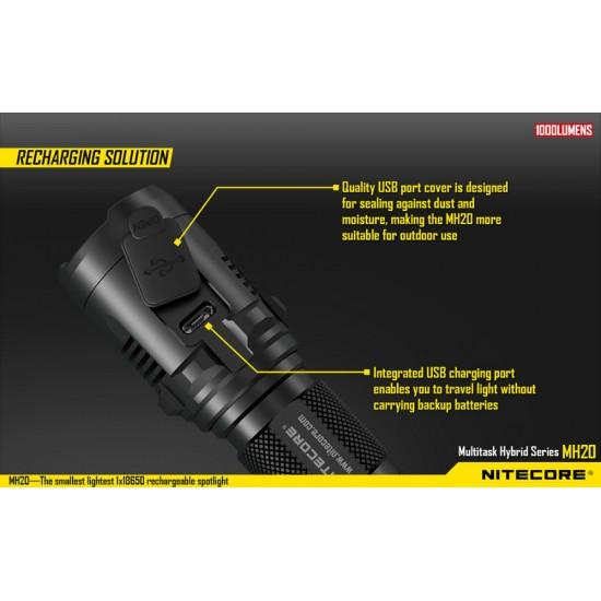 Επαγγελματικός Φακός LED NITECORE MULTI TASK HYBRID MH20